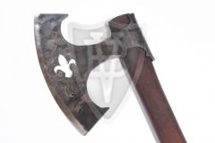 Battle Axe from the XIV. Century with Lily Design