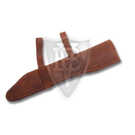 Leather Sheath for the KS05 Scramasax (machine sewn)