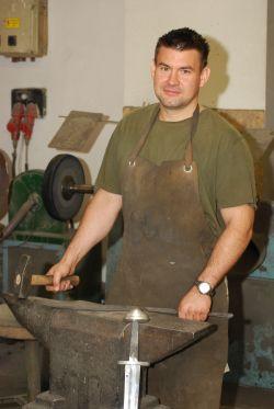 swordsmith Viktor Berbekucz